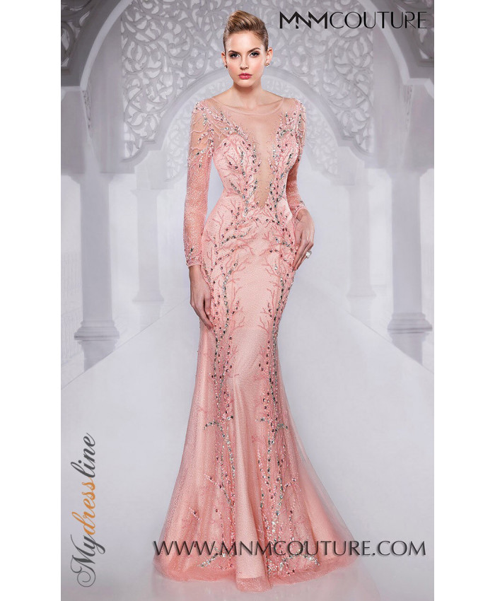 MNM Couture 9555 - MNM Couture Long Dresses