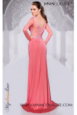 MNM Couture 9607 - MNM Couture Long Dresses