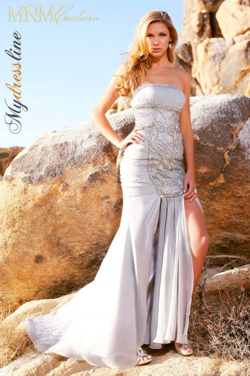 MNM Couture 6806 - MNM Couture Long Dresses