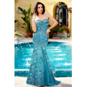MNM Couture 7373 - MNM Couture Long Dresses