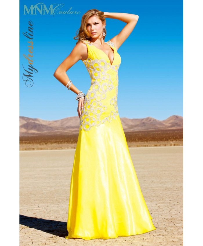 MNM Couture 7416 - MNM Couture Long Dresses