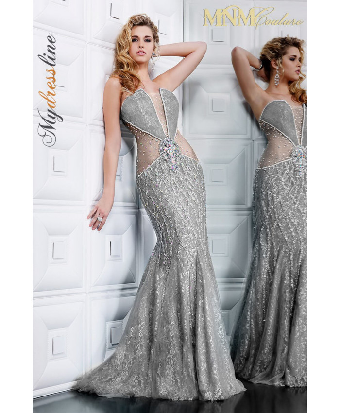 MNM Couture 7708 - MNM Couture Long Dresses