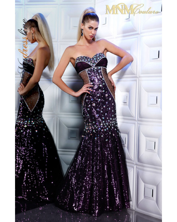 MNM Couture 8181 - MNM Couture Long Dresses
