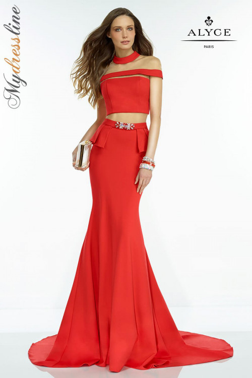 Alyce 2527 - Alyce Paris Long Dresses