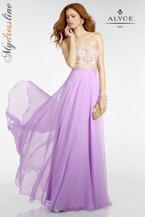 Alyce 6508 - Alyce Paris Long Dresses