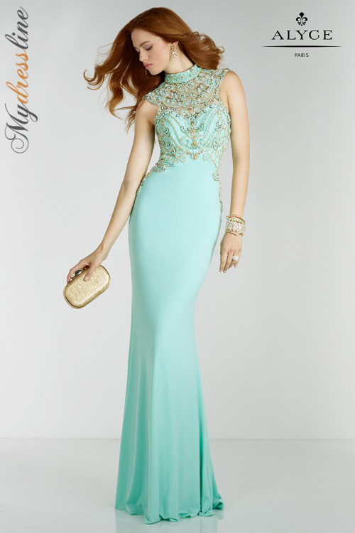 Alyce 6518 - Alyce Paris Long Dresses