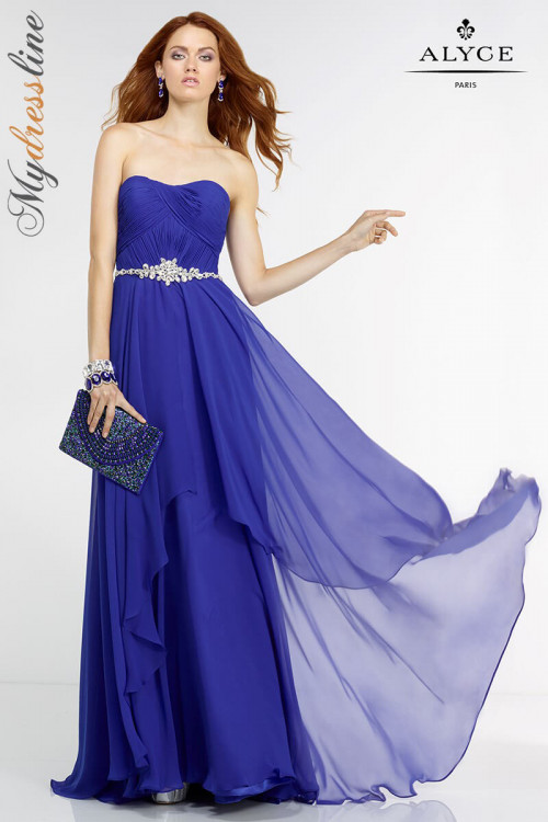 Alyce 6545 - Alyce Paris Long Dresses