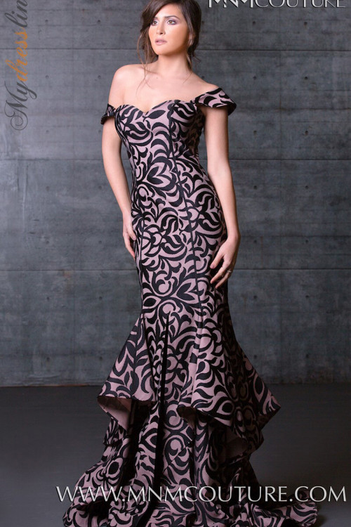 MNM Couture N0020A - MNM Couture Long Dresses