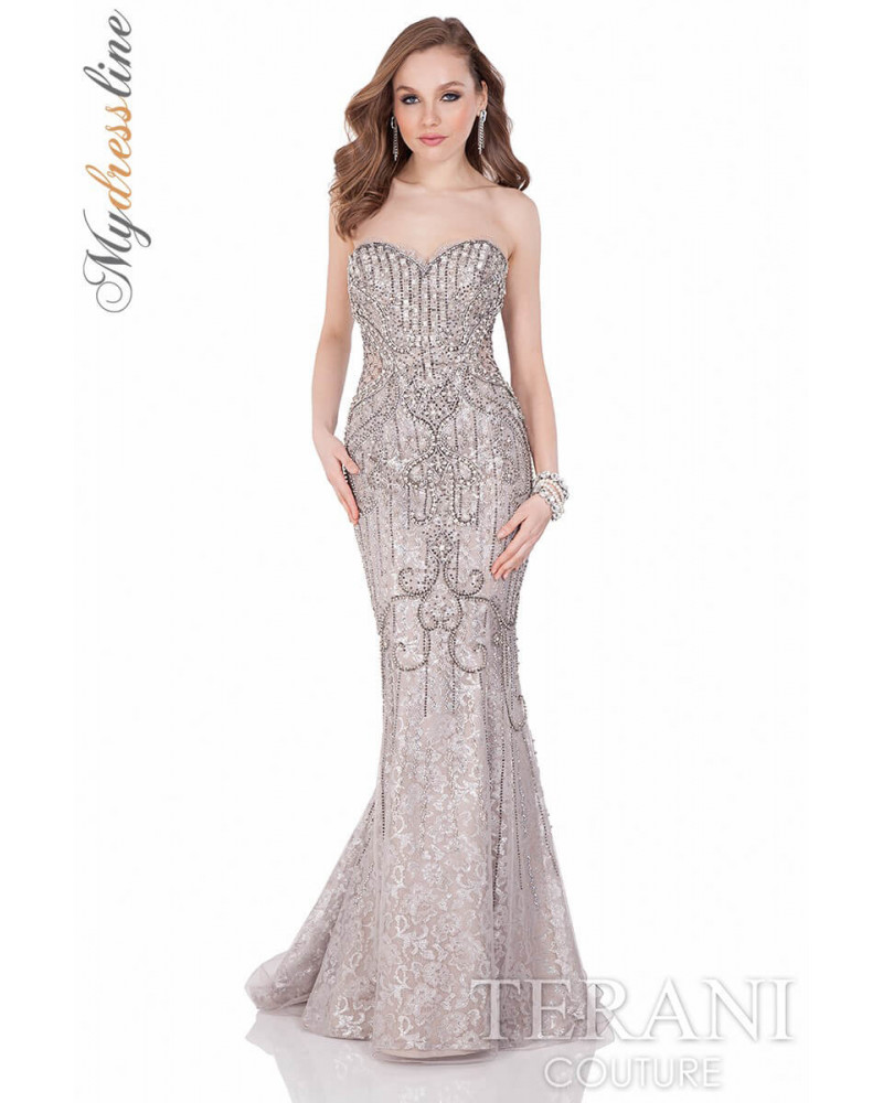 Terani couture 1623gl2031 dress for A couture dress