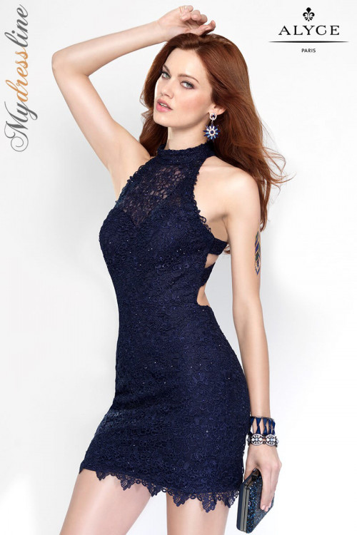 Alyce 4440 - Alyce Paris Short Dresses
