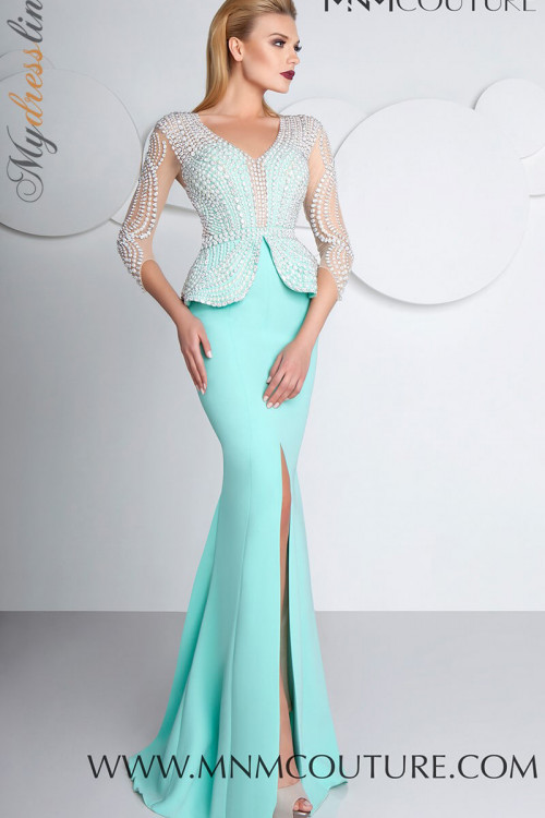 MNM Couture G0573 - MNM Couture Long Dresses