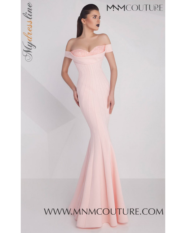 MNM Couture G0592 - MNM Couture Long Dresses