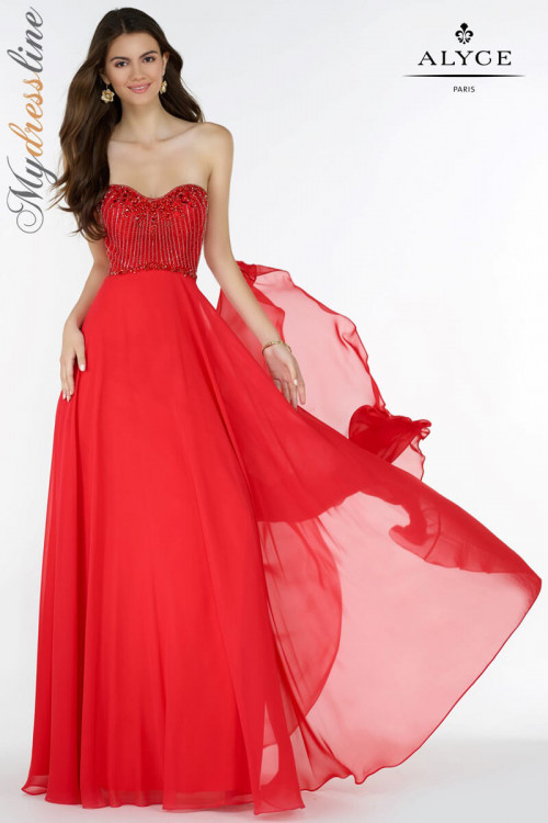 Alyce 1144 - Alyce Paris Long Dresses