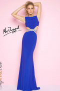 Mac Duggal 65521L - Mac Duggal Regular Size Dresses