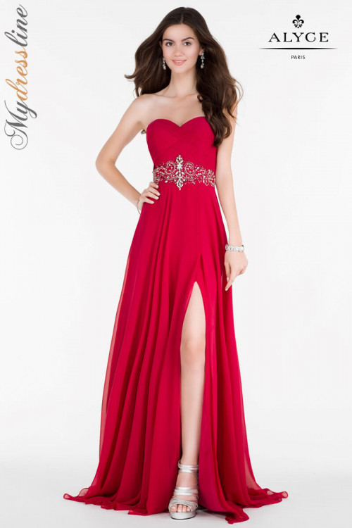 Alyce 6677 - Alyce Paris Long Dresses