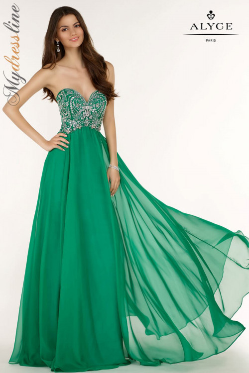 Alyce 6682 - Alyce Paris Long Dresses