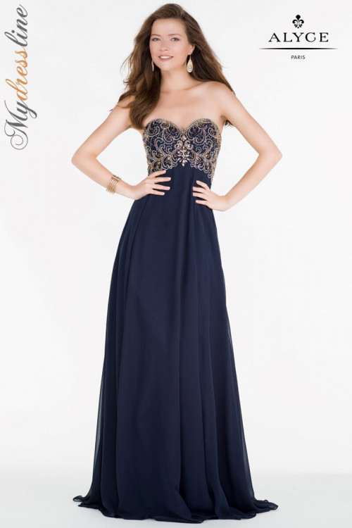 Alyce 6683 - Alyce Paris Long Dresses