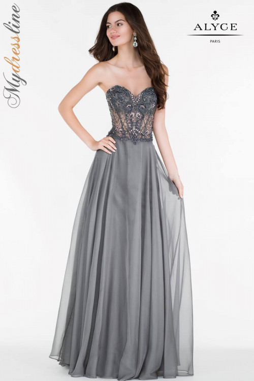 Alyce 6688 - Alyce Paris Long Dresses