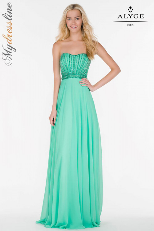 Alyce 6691 - Alyce Paris Long Dresses