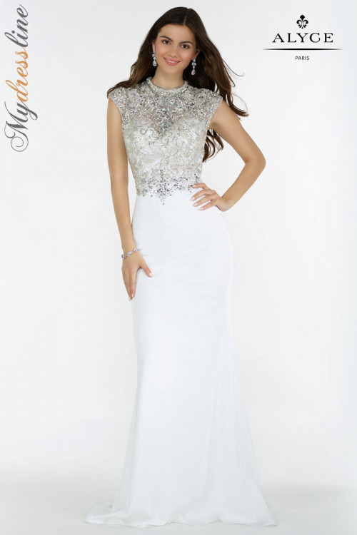 Alyce 6718 - Alyce Paris Long Dresses