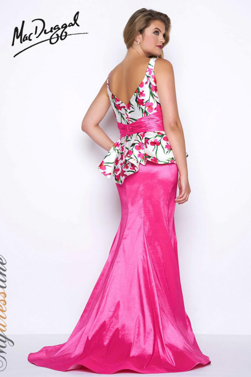 Mac Duggal 77172F - Plus Size Dresses