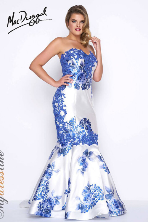 Mac Duggal 77173F - Plus Size Dresses