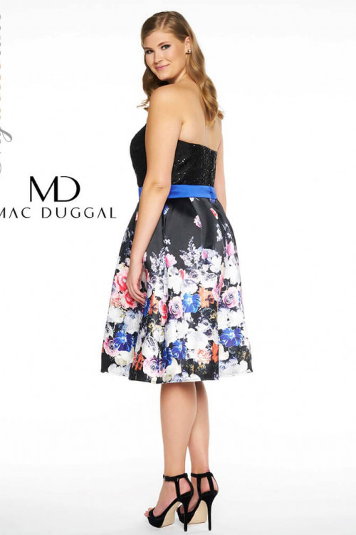 Mac Duggal 77303F - Plus Size Dresses