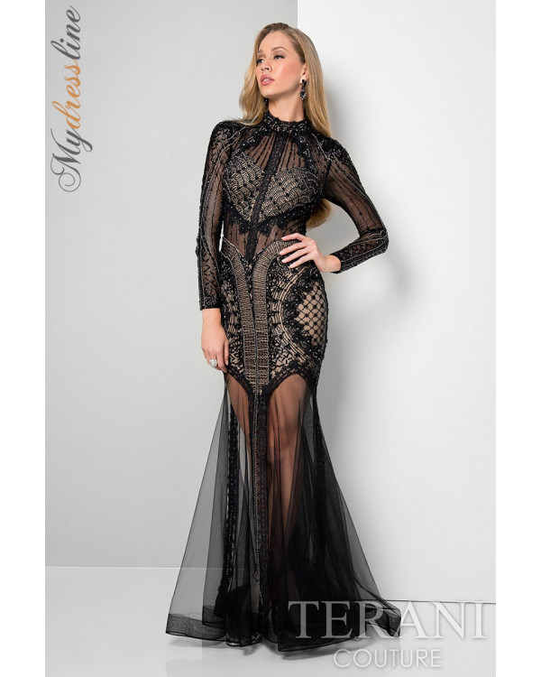 Terani Couture 1712GL3579 - New Arrivals