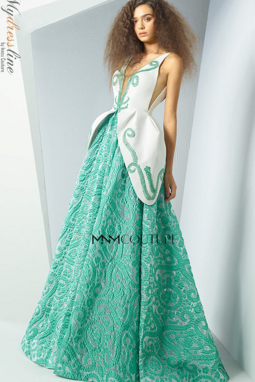 MNM Couture G0888 - MNM Couture Long Dresses