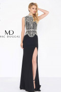 Mac Duggal 12026R - Mac Duggal Regular Size Dresses