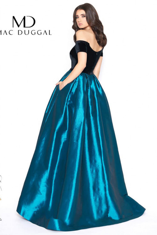 Mac Duggal 12062D - Mac Duggal Regular Size Dresses