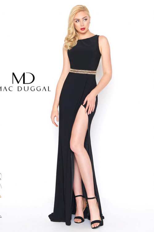 Mac Duggal 2012L - Mac Duggal Regular Size Dresses