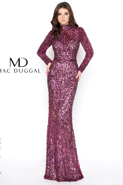 Mac Duggal 4729D - Mac Duggal Regular Size Dresses