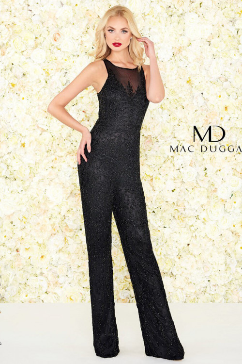 Mac Duggal 4736R - Mac Duggal Regular Size Dresses