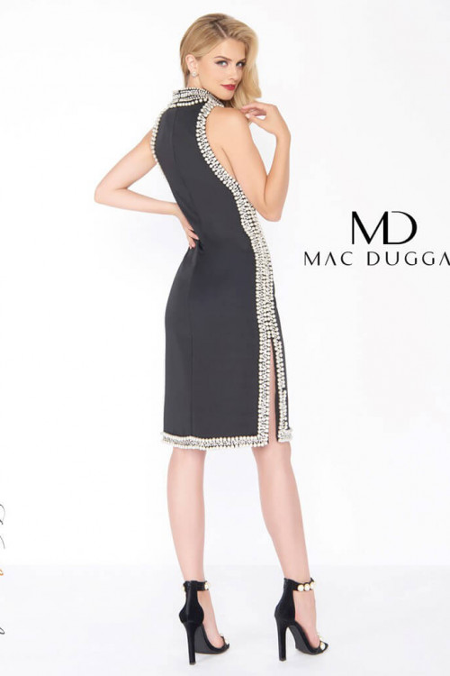Mac Duggal 62921R - Mac Duggal Regular Size Dresses