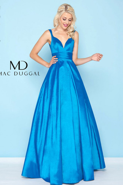 Mac Duggal 65514H - Mac Duggal Regular Size Dresses