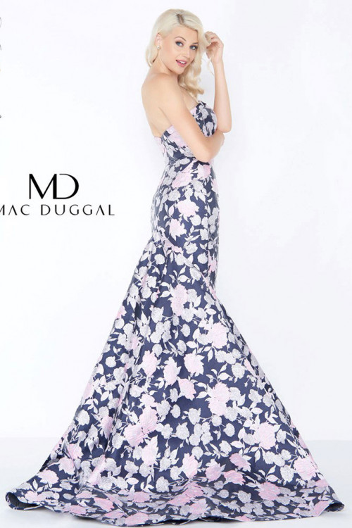 Mac Duggal 66442M - Mac Duggal Regular Size Dresses