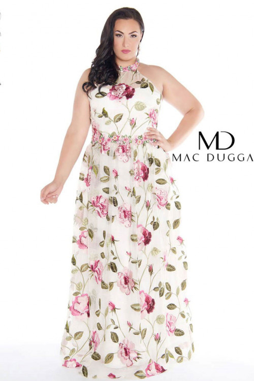 Mac Duggal 77354F - Plus Size Dresses