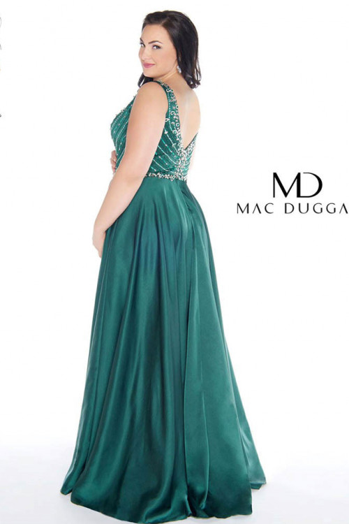 Mac Duggal 77391F - Plus Size Dresses