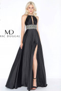 Mac Duggal 77435A - Mac Duggal Regular Size Dresses