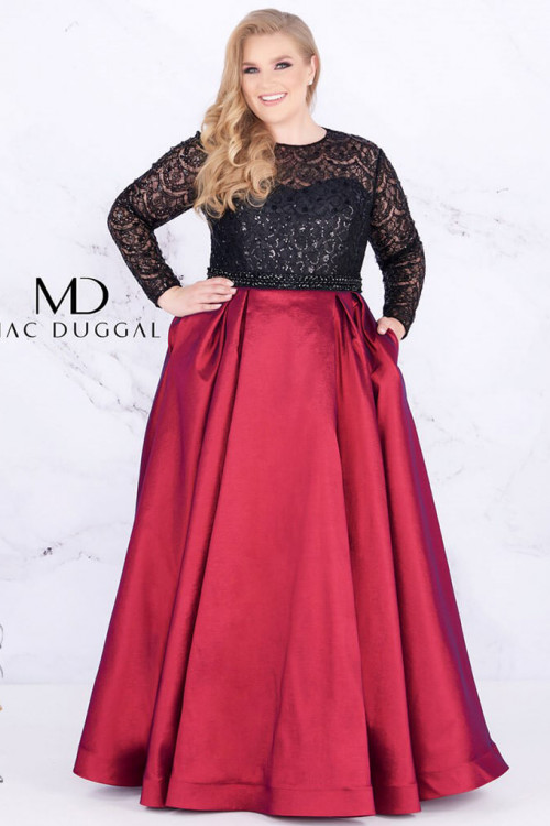 Mac Duggal 77473F - Plus Size Dresses