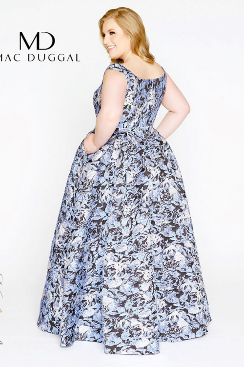 Mac Duggal 77475F - Plus Size Dresses