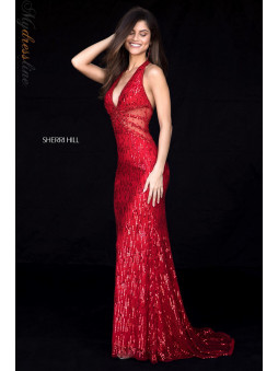 Sherri Hill Red 2018