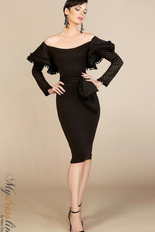 MNM Couture S0001S - MNM Couture Short Dresses