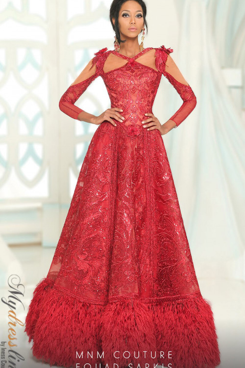MNM Couture 2523 - MNM Couture Long Dresses