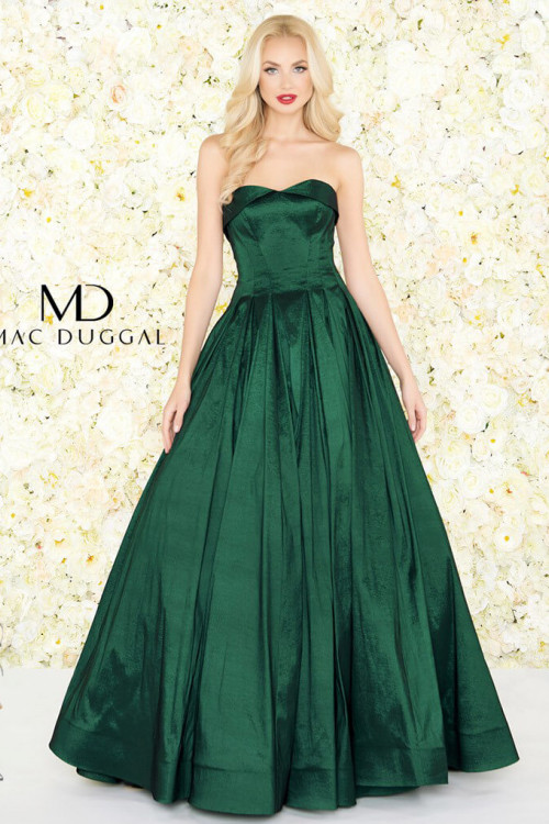 Mac Duggal 12132R - Mac Duggal Regular Size Dresses