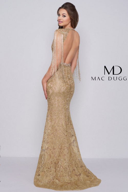 Mac Duggal 12162M - Mac Duggal Regular Size Dresses