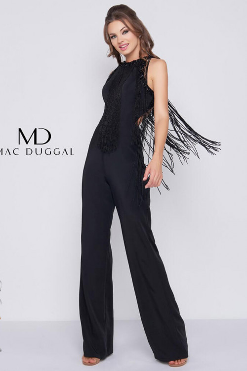Mac Duggal 12168R - Mac Duggal Regular Size Dresses