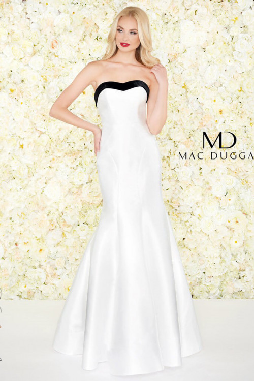 Mac Duggal 12182R - Mac Duggal Regular Size Dresses
