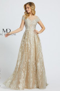 Mac Duggal 20141D - Mac Duggal Regular Size Dresses